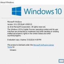#Sécurité: #Windows 10 : la mise à jour 1511 rétablissait le pistage des utilisateurs - vérifiez vos paramètres de confidentialité   #Security #InfoSec #CyberSecurity #Sécurité #CyberSécurité #CyberDefence & #eCommerce   Scoop.it