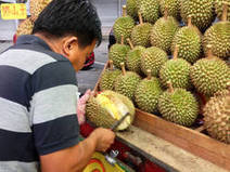 Millennium Seed Bank Blog - Durian the King of Fruits | Asian Food Markets | Scoop.it