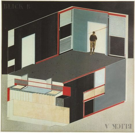"""El Lissitzky's """"Cabinet of Abstraction"""" – – SOCKS 