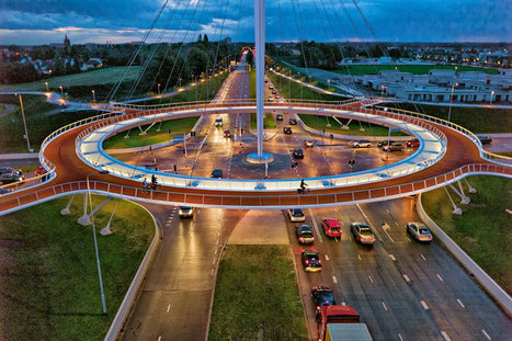 This is the World's First Suspended Bicycle Roundabout | Cyclopedia. Curated Content for Curious Cyclists | Scoop.it