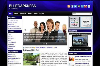 BlueDarkness | Blogger themes | Scoop.it