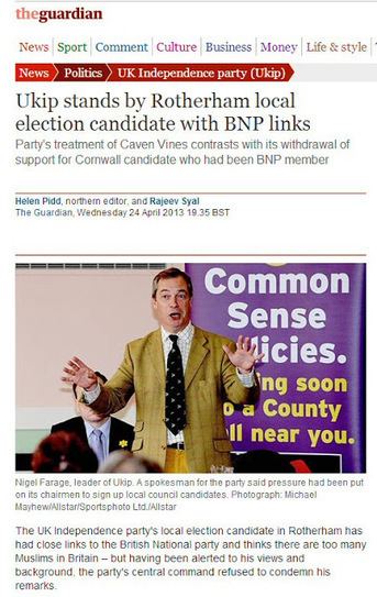 Simon Darby: The start of the BNP UKIP firebreak & decriminalising the immigration debate   The Indigenous Uprising of the British Isles   Scoop.it