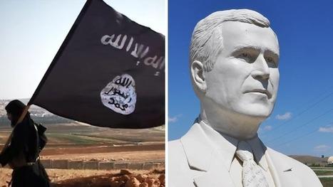 Daech : inauguration d'une statue à l'effigie de George W. Bush « sans qui, rien n'aurait été possible » | Think outside the Box | Scoop.it