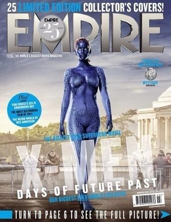 Buzz: Jennifer Lawrence nue a la une de 'EMPIRE' pour le nouveau film XMEN !   cotentin webradio Buzz,peoples,news !   Scoop.it