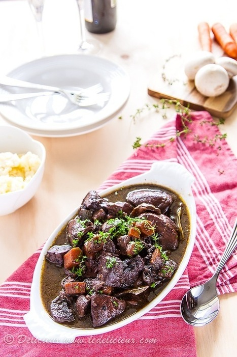 Mushroom Bourguignon | Meatless mondays | Scoop.it