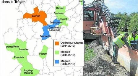 #Lannion-Trégor Communauté - Déploiement de la fibre optique : le chantier avance | Aménagement numérique | Scoop.it