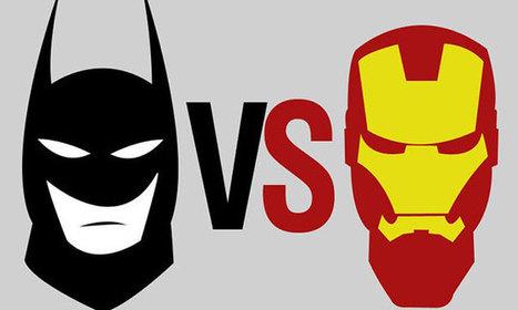 Infographic: Batman VS Iron Man | Infographics | Scoop.it