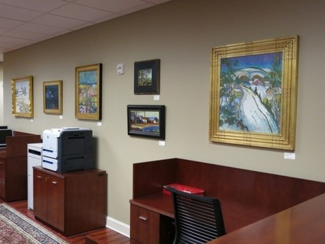 Art appreciation at company offices - phillyBurbs.com | Office Environments Of The Future | Scoop.it