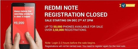 Xiaomi Redmi Note first flash sale today (Dec 2nd) are you ready ? | i Gadgets World | innovative Gadgets World | iGadgetsworld | Scoop.it
