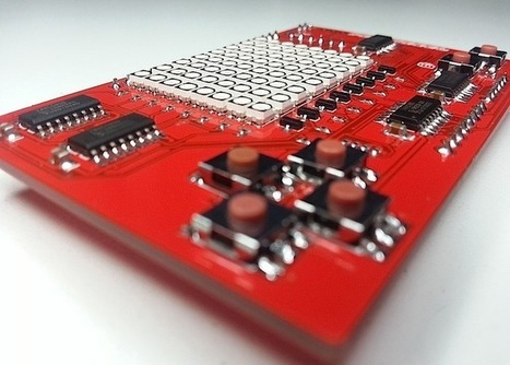 DigiPixel Arduino LED Game Shield Lets You Build Your Own Games | Raspberry Pi | Scoop.it