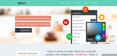 35 Best Simple Tumblr Themes   Web Design   Scoop.it