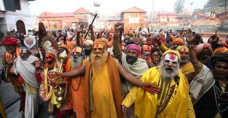 Celebrating Hindu Festival of Shiva and Antics of Naga Sadhus | festivalszone | Scoop.it