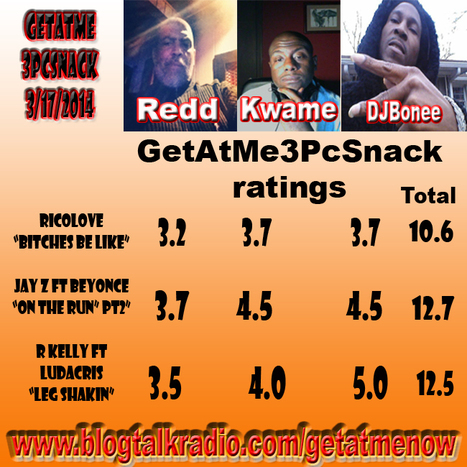 TheGetAtMe3PcSnack on blogtalkradio.com/getatmenow Sundays @11PM | GetAtMe | Scoop.it
