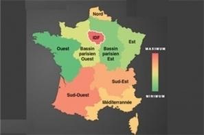 Infographie : Les régions les plus connectées en France | Infographie & data visualisation | Scoop.it