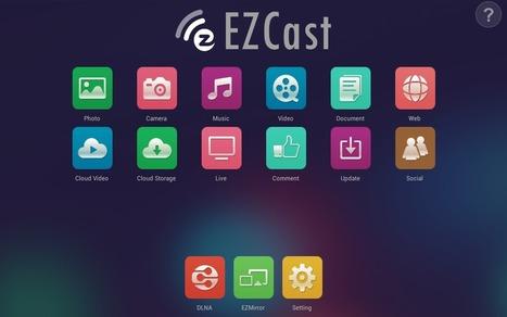 En la nube TIC: Ezcast, un puente entre Android e iOS y el proyector   iPad classroom   Scoop.it