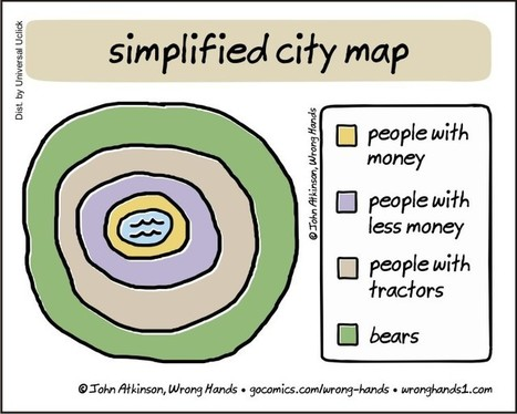 Simplified City Map | Geography Education | Scoop.it