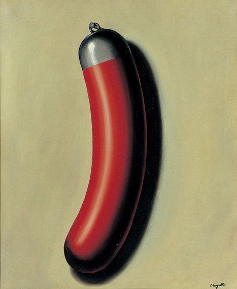 brazenswing: René Magritte La saucisse casquée... | QUEERWORLD! | Scoop.it