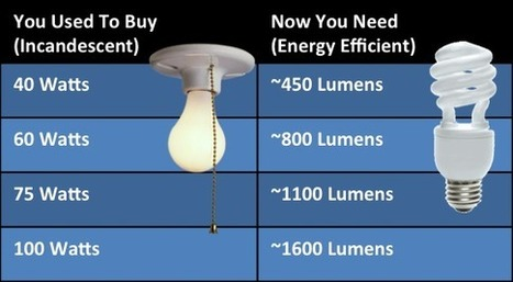 Evaluating Energy Efficient Light Bulbs | Everblue | Mainstream Sustainability | Scoop.it