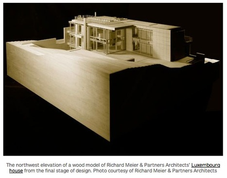 Richard Meier's STUNNING Architectural Models | The Architecture of the City | Scoop.it