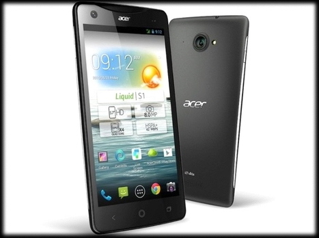 Acer announces 5.7-inch Liquid S1 with Android 4.2 Jelly Bean | Mobile IT | Scoop.it