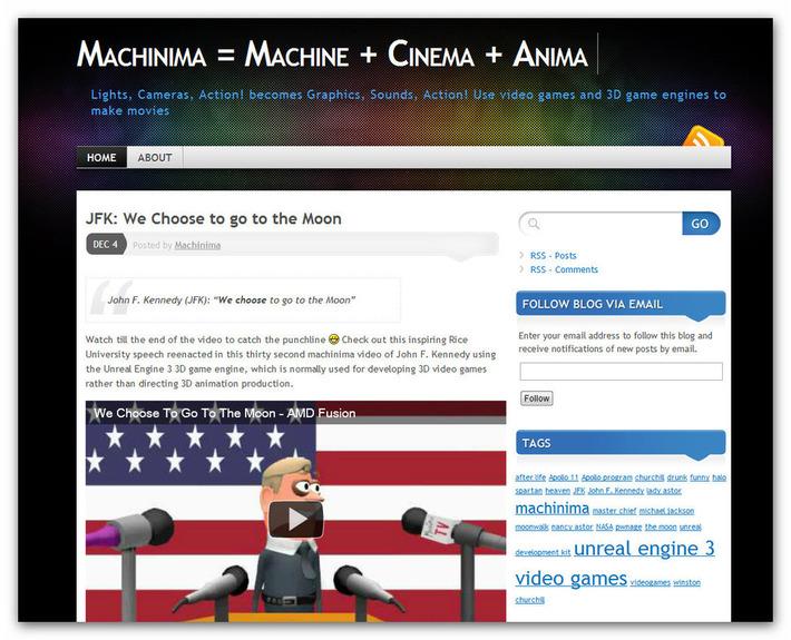 Machinima = Machine + Cinema + Anima | Machinimania | Scoop.it