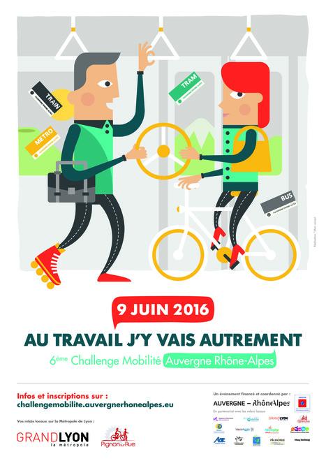 Challenge mobilité Auvergne Rhône-Alpes 2016 | Mobilités | Scoop.it