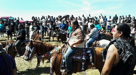 Native American Protests Against DAKOTA ACCESS OIL PIPELINE Just Keep Getting Bigger | Oil and Gas | Scoop.it