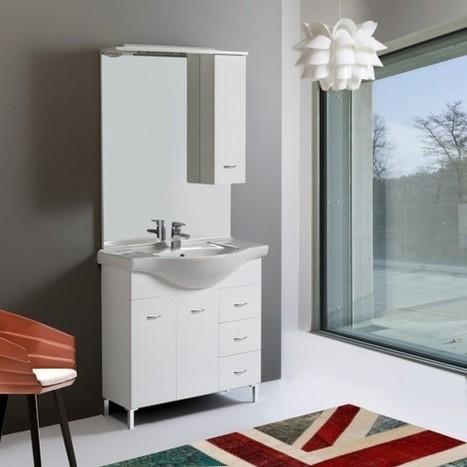 Vantaggi di un mobile bagno a terra - KV Blog | Arredo Bagno | Scoop.it