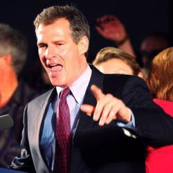 "Republican Scott Brown's misleading attack campaign ""reeks of desperation"" 
