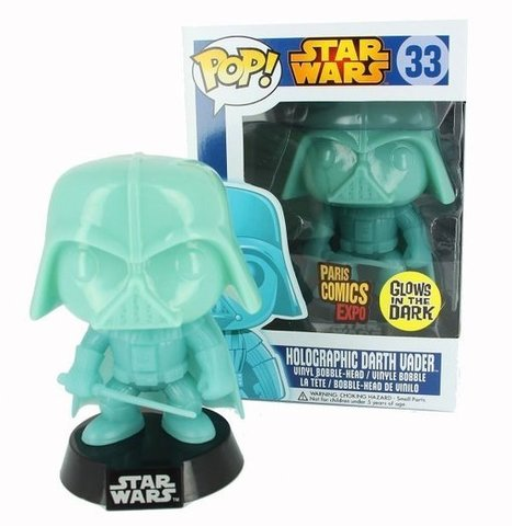 Funko Holographic Glow in the Dark Darth Vader | From 3D to Holography | Scoop.it