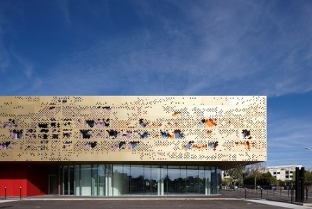 [ Saint Herblain, France] School of Arts / Tetrarc Architects   The Architecture of the City   Scoop.it