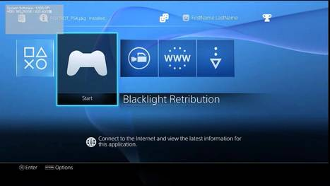 Leaked Footage of PS4 Dev Kit User Interface in Action ~ PS4.SX | DesignPlus | Scoop.it