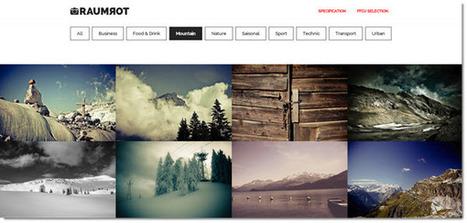 Raumrot, colección de imágenes creativas para usar en nuestros proyectos | Herramientas 2.0 | Scoop.it