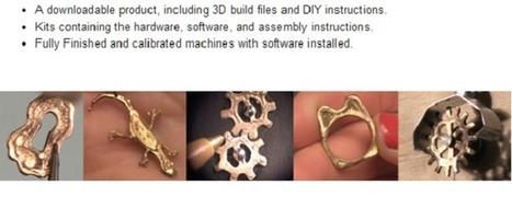 Une imprimante 3D qui fait du métal, ça coûte $1000 ! | Fab Lab à l'université | Scoop.it