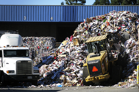 """When Recycling Becomes a Dirty Business (""""single-stream collection not good for recycling"""") 
