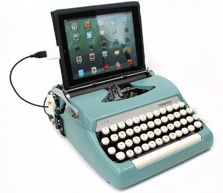 Você já mexeu numa máquina de escrever?   Litteris   Scoop.it