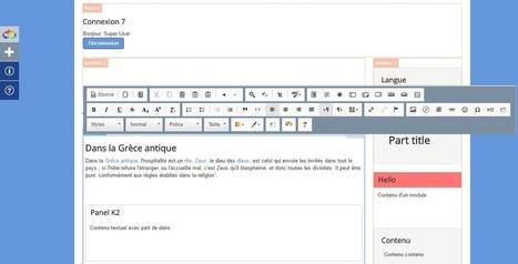 NextGenEditor - Constructeur de pages Frontend pour Joomla! | Tout sur l'univers Joomla! | Scoop.it