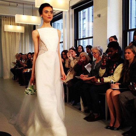 Spring 2014 Wedding Dress Trends   Bridal Runway Shows  | Wedding Dresses Style | Dresses | Scoop.it