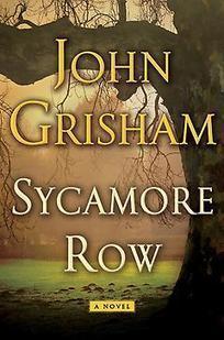 Sycamore Row : John Grisham | Hardcover | 9780385537131 | Bookish.com | Favorite Best-Selling Books | Scoop.it