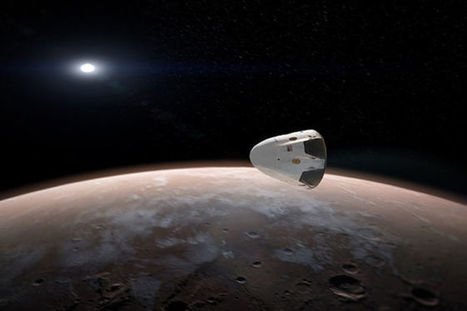 Will SpaceX Get People to Mars Before NASA? | New Space | Scoop.it