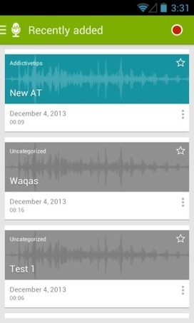 Recorder With Tags: Bookmark Points In Audio Recordings On Android | Voice Recording for Productivity | Scoop.it