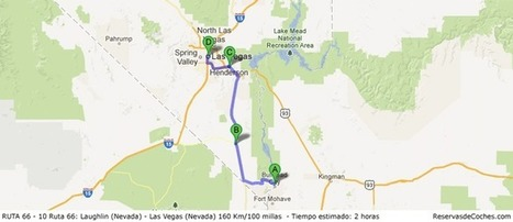 Etapa 10 Ruta 66: Laughlin (Nevada) – Las Vegas (Nevada) | Ruta 66 | Scoop.it