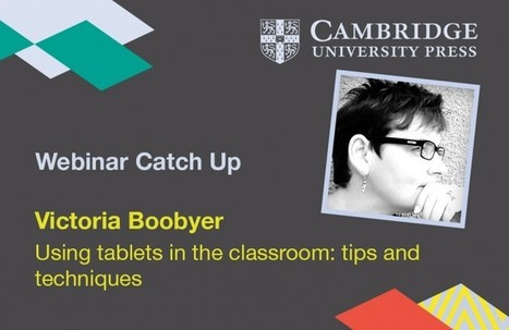 Using tablets in the classroom: tips and techniques | Cíntia's ELT page | Scoop.it