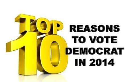 Top 10 Reasons to Vote Democrat in 2014 - Allen B. West - AllenBWest.com   Politics and Business   Scoop.it