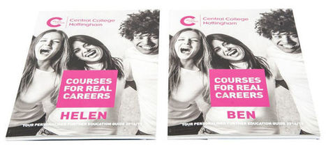 Nottingham College first to create personalised prospectus | Business | Scoop.it