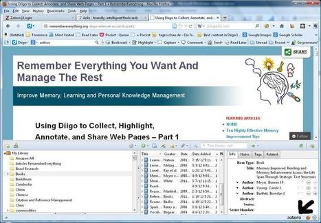 Zotero – Create a Digital Library, and Manage Citations and Bibliographies for Your Research | Zotero | Scoop.it