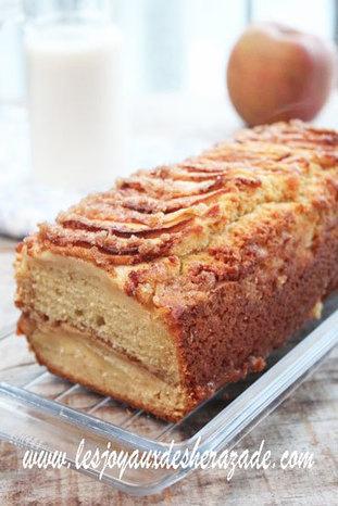 Cake aux pommes à l'ancienne | Les recette de les joyaux de sherazade | Scoop.it