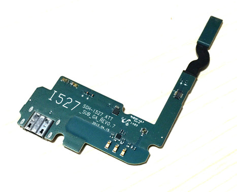 Genuine Samsung Galaxy Mega 6.3 AT&T I527 USB Charging Port Dock Flex Cable Ship with USPS [partofphone2015101] - $9.96 : www.partofphone.com | partofphone | Scoop.it