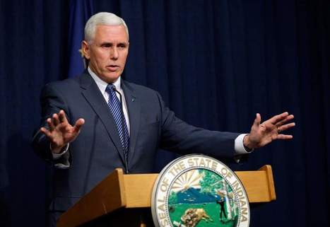 Uproar Over Religious Freedom Law Trips Up Indiana's Governor | enjoy yourself | Scoop.it