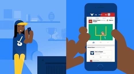 Facebook lance une fonctionnalité dédiée au sport | Anne Balas-Klein - Fashion & Luxury Business | Scoop.it